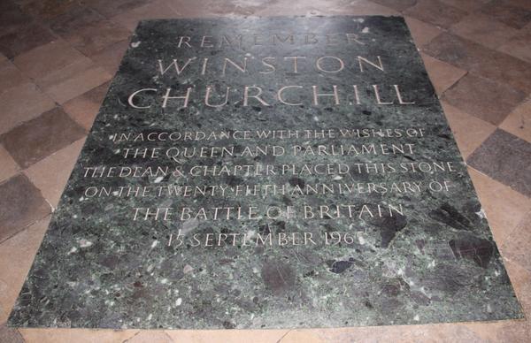 Remember Winston Churchill