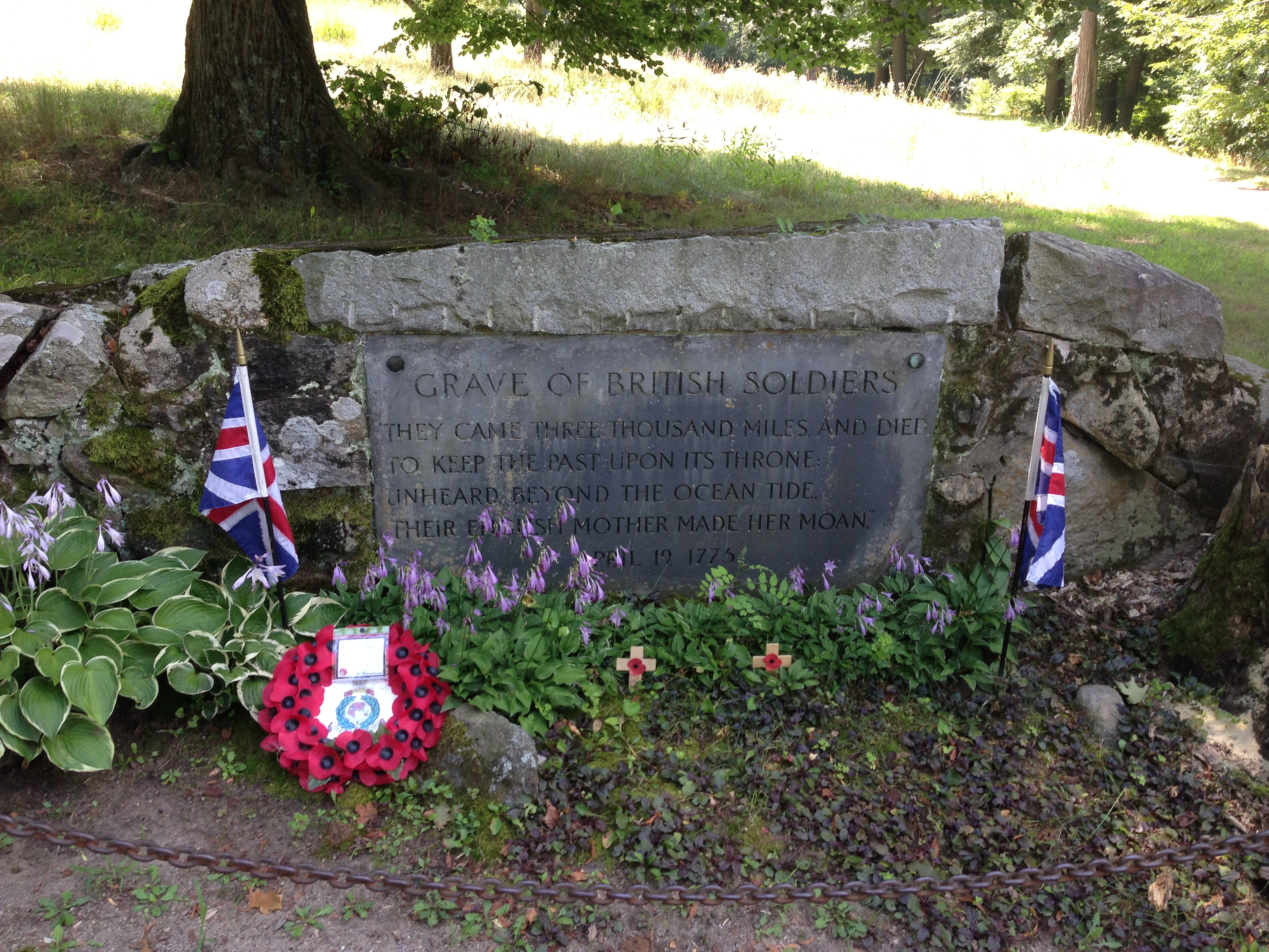 Graves of British Soldiers at Concord