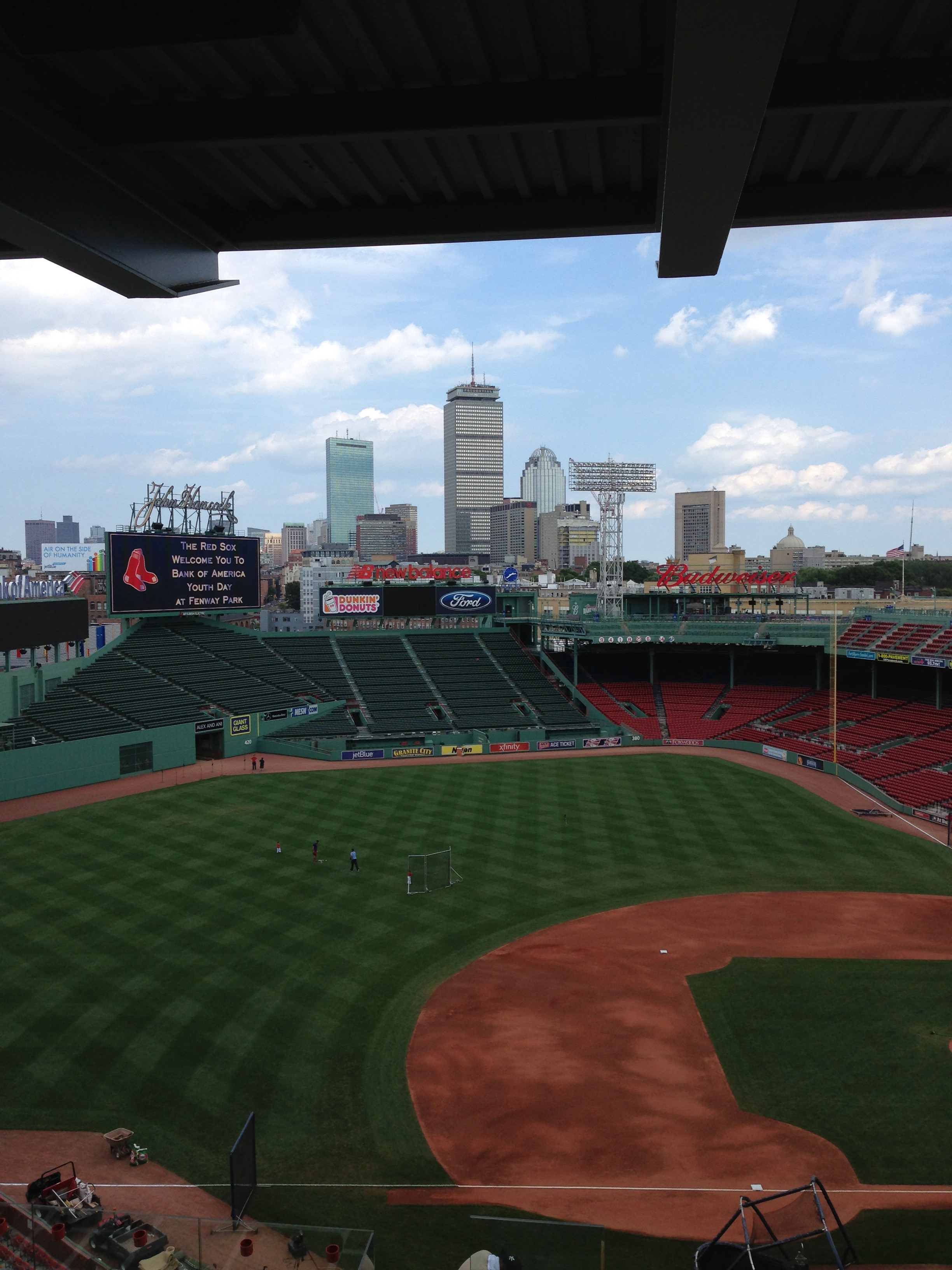 Boston from Fenway