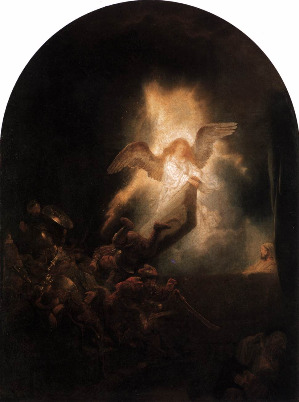 The Resurrection of Christ by Rembrandt Van Rijin