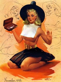 Thanksgiving Pin up